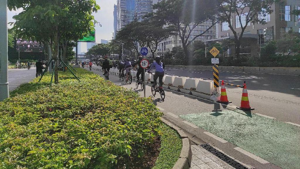Bike to Work Sesalkan Wacana Polisi Tiadakan Jalur Sepeda Permanen