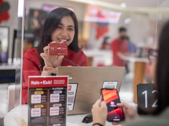Telkomsel mempermudah pelanggan dalam menukar atau yang ingin upgrade ke kartu 4G.