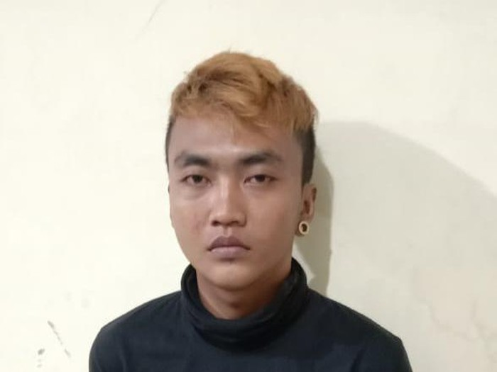 Tersangka pencuri ikan cupang di Solo, M Galih Prasetyo