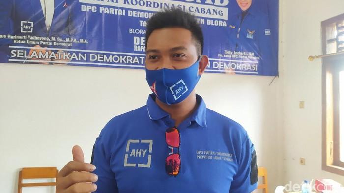Anak eks Ketua DPC PD Blora Bambang Susilo, Yusuf Abdurrohman, Minggu (14/3/2021).