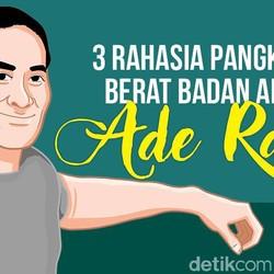 3 Tips Ade Rai untuk Pangkas Berat Badan Secara Sehat dan Nggak Nyiksa