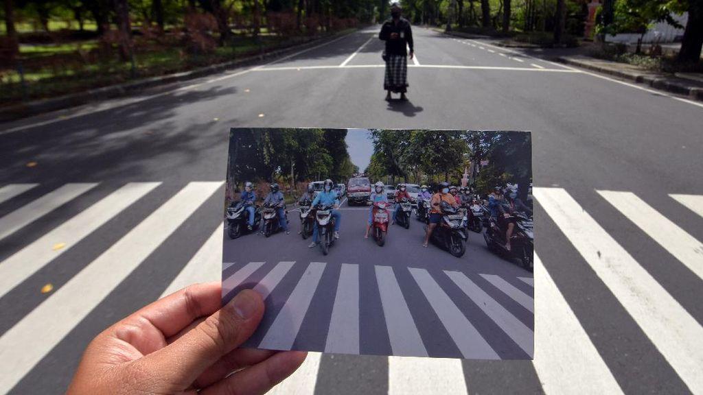 Potret Bali yang Sunyi Saat Nyepi