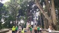Libur Akhir Pekan, Tahura Bandung Jadi Primadona