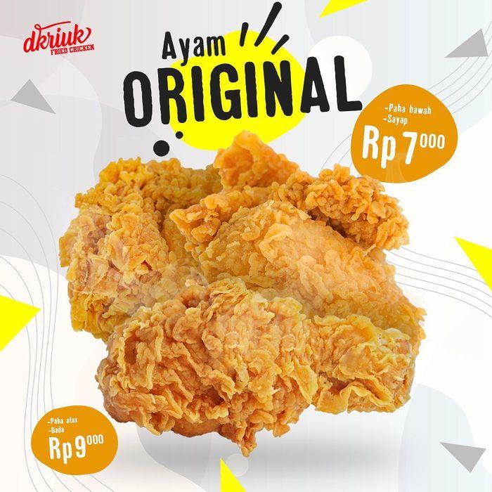 20 Fried Chicken Murah Meriah Ada di Sini