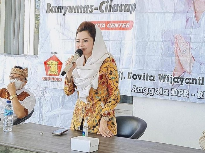 Anggota DPR RI Fraksi Partai Gerindra Novita Wijayanti