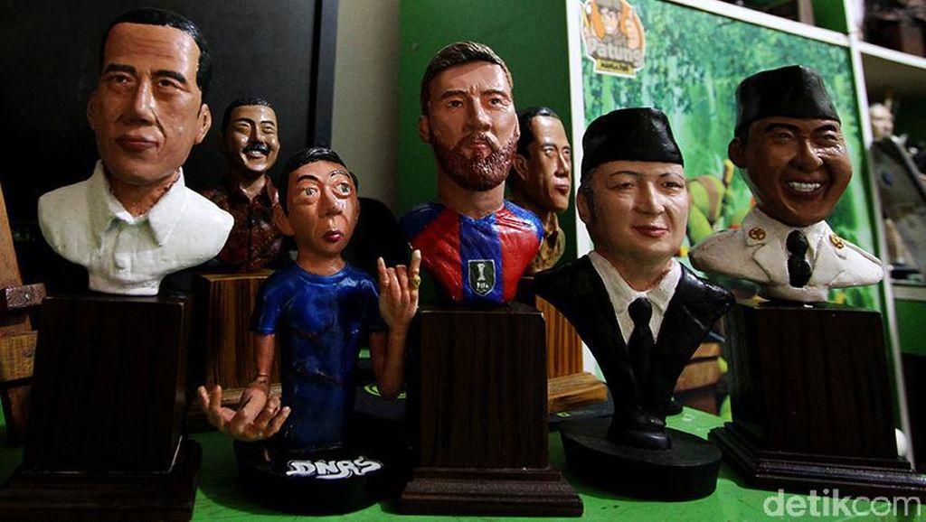 Seni Patung Ini Hasil Kreasi Pekerja Pabrik di Boyolali Lho