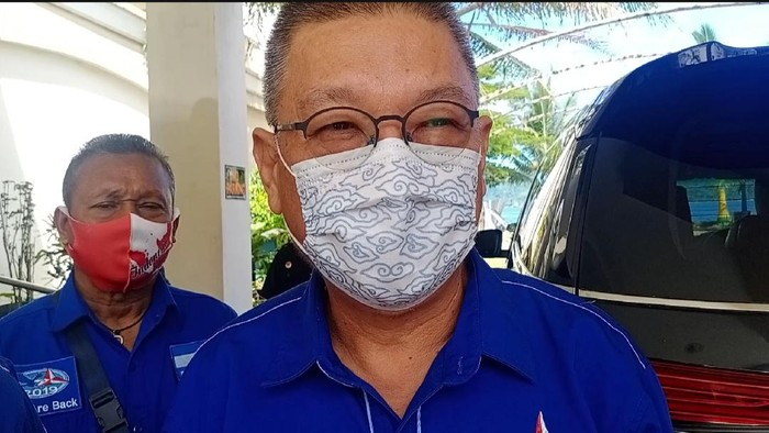 Ketua DPD Partai Demokrat Maluku, Elwen Roy Pattiasina (Foto: Muslimin Abbas/detikcom)