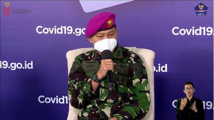 Komandan Lapangan RS Darurat COVID-19 Wisma Atlet Kemayoran, Letkol Laut Muhammad Arifin