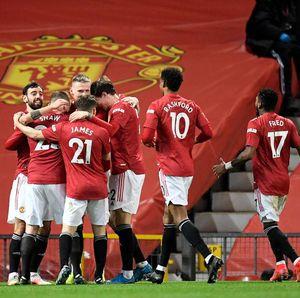 Man United Kunci Tiket ke Liga Champions 2021/2022