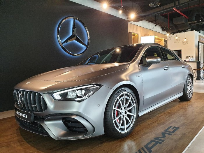Mercedes-AMG CLA 45 S 4Matic+ Coupe