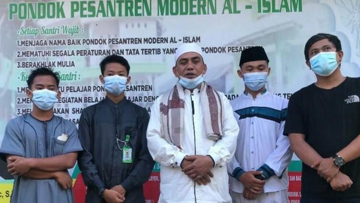 Tim Baintelkam Mabes Polri tak lupa bersilaturahmi dengan Ormas Islam di Banten jelang datangnya bulan suci Ramadhan.