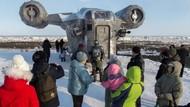 Niat Banget, Fans Star Wars Bangun Kapal Luar Angkasa di Siberia