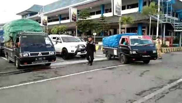 Pelabuhan ASDP Ketapang Banyuwangi kembali dibuka setelah nyepi