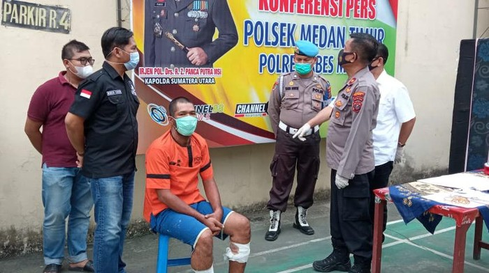 Pencuri perhiasan di Medan diamankan polisi