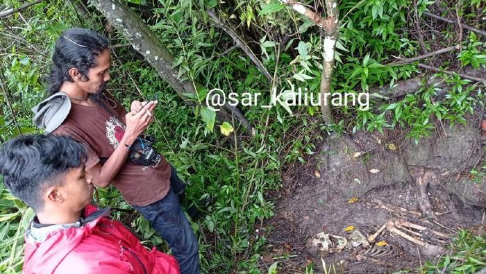 Penemuan kerangka manusia usai Labuhan Merapi, Senin (15/3/2021)