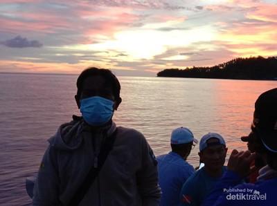 Perjalanan ke Pulau Pasoso, Menantang Maut di Spot Parumbia