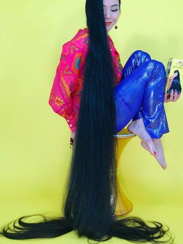 Rin Kambe, Rapunzel di dunia nyata asal Jepang.