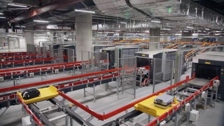 Sistem Bagasi Bandara Sydney