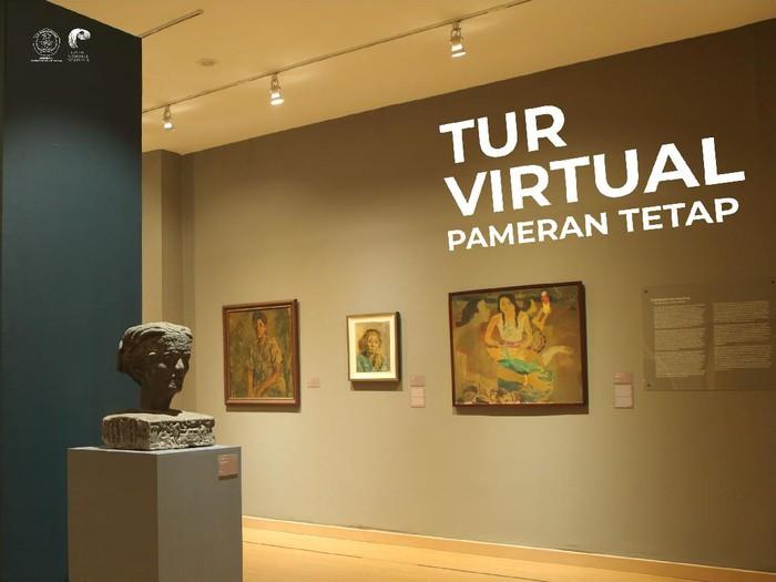 Tur Virtual Pameran Tetap Koleksi Galeri Nasional Indonesia