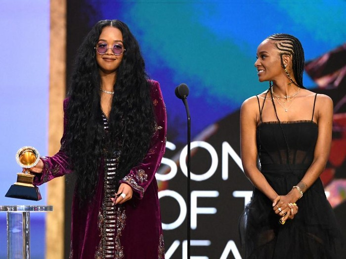 LOS ANGELES, CALIFORNIA: In this image released on March 14, Cardi B performs onstage during the 63rd Annual GRAMMY Awards at Los Angeles Convention Center in Los Angeles, California and broadcast on March 14, 2021.   Kevin Winter/Getty Images for The Recording Academy/AFP (Photo by KEVIN WINTER / GETTY IMAGES NORTH AMERICA / Getty Images via AFP)