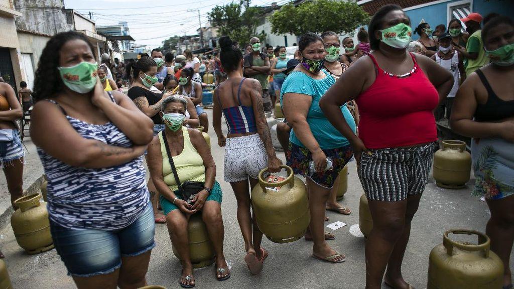 40 Juta Warga Brasil Diprediksi Hidup Miskin Akibat Pandemi Covid-19