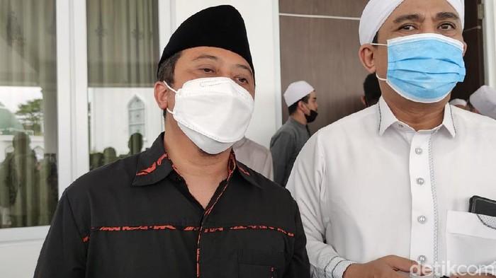 Yusuf Mansur (kiri). Foto: Rahmat Fathan/detikcom