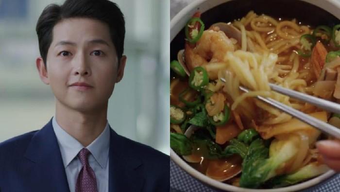 Fakta jjampong yang dimakan Song Joong Ki dalam drama Korea terbaru Vincenzo