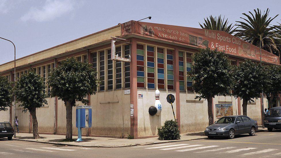 Kota Asmara di Eritrea