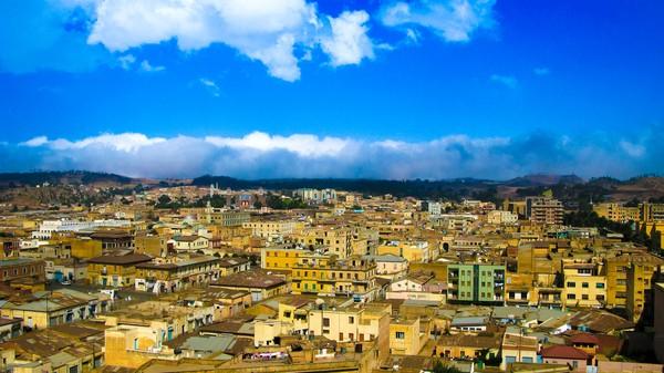 Asmara adalah ibukota negara Eritrea dan berada di Afrika Timur. Negara ini jadi tetangga dekat Ethiopia. (Getty Images/iStockphoto)