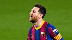 Brace ke Gawang Getafe, Lionel Messi Samai Rekor Gol Ronaldo