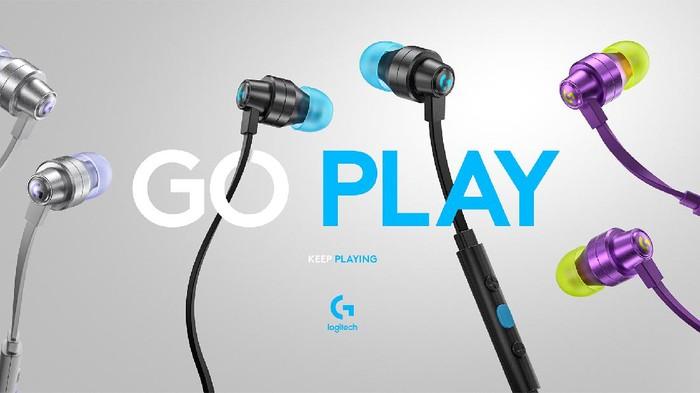 Logitech G333 Gaming Earphones