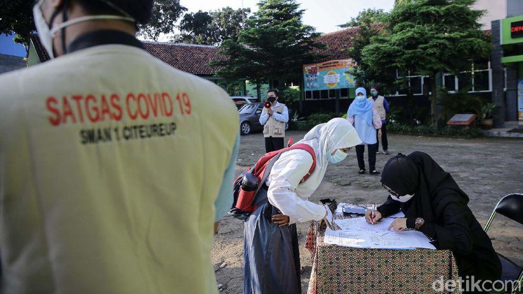 80% Sekolah di Kabupaten Bogor Sudah Jalankan Belajar Tatap Muka