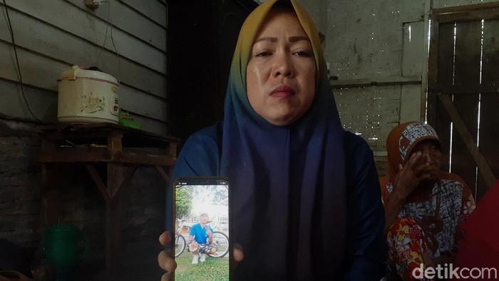 Sutiah, istri Yunus TKI yang menginggal di Malaysia