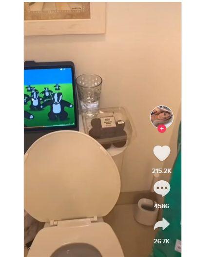 Jijik! Makan dan Minum sambil BAB di Toilet jadi Tren di TikTok