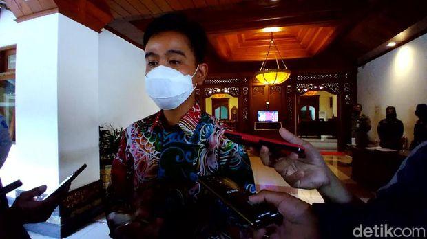 Wali Kota Solo Gibran Rakabuming Raka, Selasa (16/3/2021).
