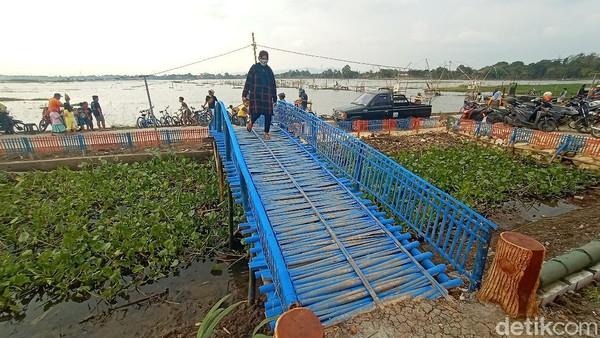 Masri menyebut adanya gerbang ala Jepang itu bisa menghidupkan lahan tidak produktif. Kawasan itu merupakan langganan banjir. Bahkan, petani di kawasan tersebut sering mengalami gagal panen namun sekarang jadi tempat wisata.