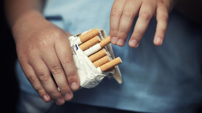 Anak dan rokok