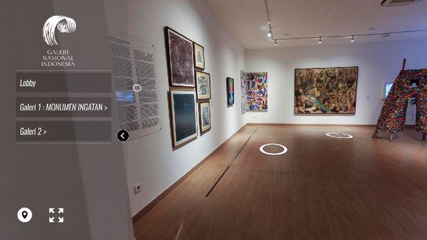 Galeri Nasional Indonesia Buka Pameran Tetap Secara Virtual