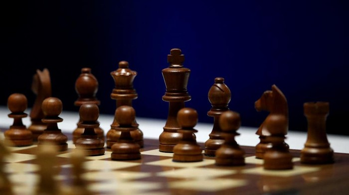 BEVERWIJK, NETHERLANDS - JANUARY 27:  A detailed view of the board and pieces including the Queen, King, Knight, Bishop, Rook and Pawn during the 83rd Tata Steel Chess Tournament held in Dorpshuis De Moriaan on January 27, 2021 in Wijk aan Zee, Netherlands (Photo by Dean Mouhtaropoulos/Getty Images)