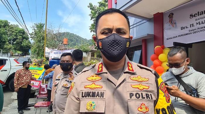 Kapolres Sukabumi AKBP Lukman Syarif