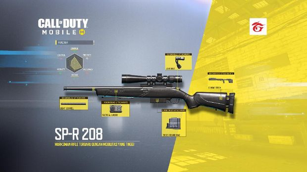 Mengenal 2 Senjata Baru di Call of Duty: Mobile Season 2