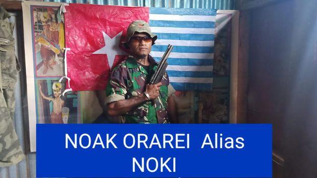 Noak Orarei, Komandan Sektor Kelompok KKB wilayah Kosiwo, Kepulauan Yapen