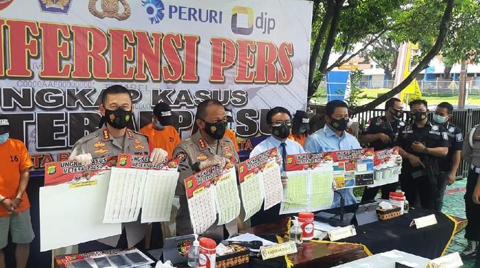 Pemalsuan materai senilai Rp 37 miliar dibongkar Polres Bandara Soekarno-Hatta