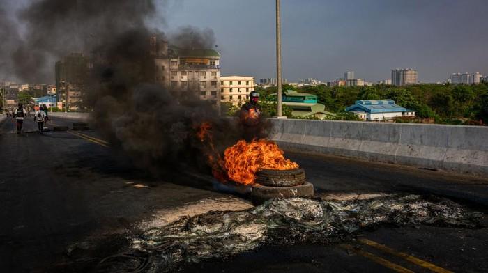 Seperti dilansir AFP, Selasa (16/3/2021) Asosiasi Bantuan untuk Tahanan Politik (AAPP) menyebut sudah lebih dari 180 orang tewas sejak kudeta 1 Februari.