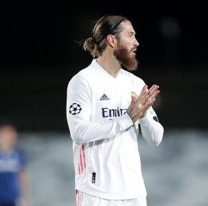 Sergio Ramos Positif COVID-19