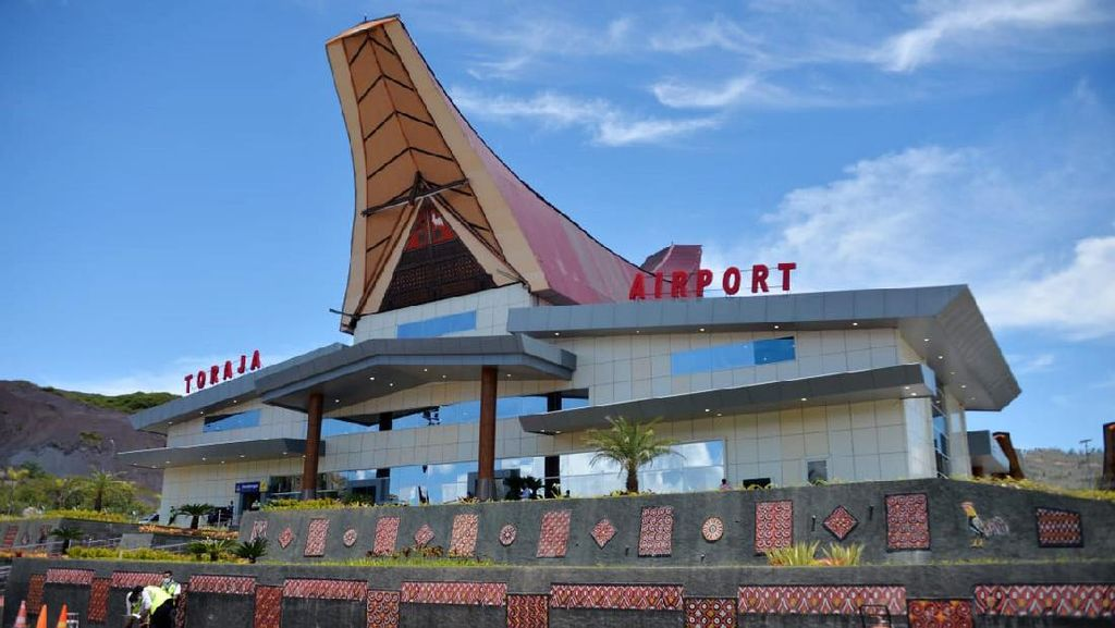 Wow! Bandara Ini Dibangun dengan Membelah 3 Bukit