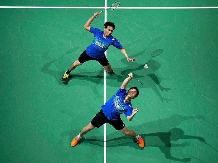Nasib sial menimpa Indonesia di All England 2021. Foto: Getty Images
