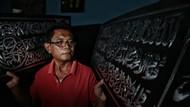 Kisah Mantan Tukang Parkir Banting Setir Bisnis Kaligrafi