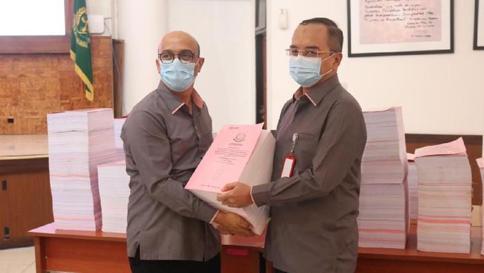 Kejagung limpahkan berkas 13 korporasi tersangka kasus Jiwasraya (Wilda-detikcom)