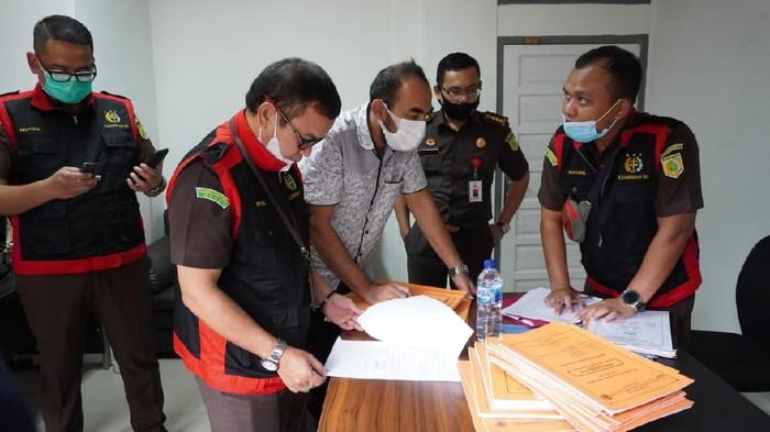 Kejati Aceh geledah BPBA terkait dugaan korupsi pembangunan jembatan (Dok Kejati Aceh)